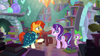 "Sunburst ""you could have helped me at magic school"" S6E2"