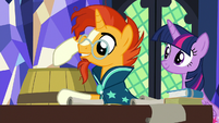 Sunburst -the stuff I bought is inside- S7E24