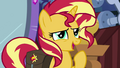 "Sunset Shimmer ""could be a nice distraction"" EGS3.png"