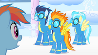 The Wonderbolts show up S1E16