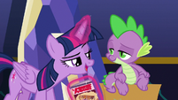 "Twilight ""aren't you glad we triple-checked?"" S9E26"