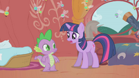 Twilight -the princess will be here in a few hours- S1E10