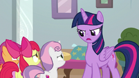 "Twilight Sparkle ""but to teach Cozy"" S8E12"