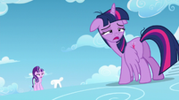 Twilight hears filly Rainbow Dash S5E26