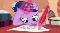 Twilight writes S2E20