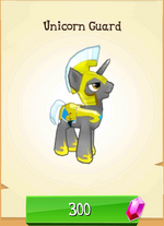 Unicorn Guard MLP Gameloft