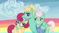 Zephyr and his parents group smile S6E11.png