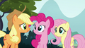 AJ, Pinkie, and Fluttershy look at each other S8E2.png