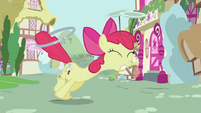 Apple Bloom pulled away S2E06