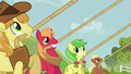 Apple family pulling on ropes S3E8.png
