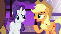 "Applejack ""explain to me why"" S9E17"