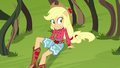 Applejack surrounded by vicious vines EG4.png