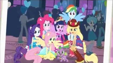 Equestria Girls Chegou a Grande Noite ( Reprise ) Letra na descrição