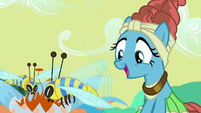Mage Meadowbrook excited -flash bees!- S7E20
