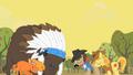 Peace between Appleloosans and buffalo S01E21.png