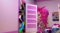 Pinkie Pie opens her stuffed closet EGM1