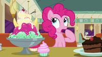 Pinkie Pie thinking S6E9