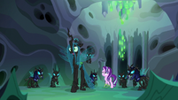 Queen Chrysalis --he'll learn just what happens-- S6E26