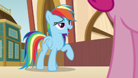 """Rainbow """"get in first and beat the crowd"""" S9E6"""