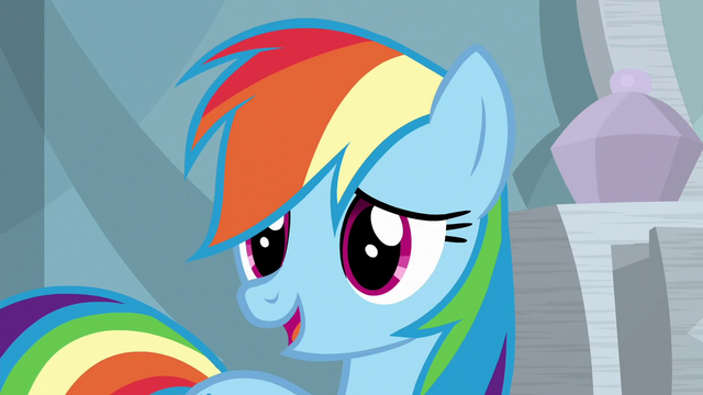 """File:Rainbow """"nothing to get too excited about"""" S6E13.png"""