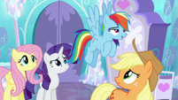 "Rainbow Dash ""well, I know"" S6E1"