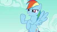 Rainbow Dash --how's that for effort--- S6E15