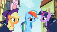 Rainbow Dash Saddened S2E8