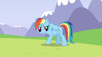 Rainbow feeling her back S3E7