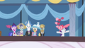 Rarity cheering for Fleetfoot S2E9.png