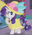 Rarity flowery dress ID S2E9