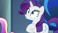 Rarity realizing what Twilight said S8E25
