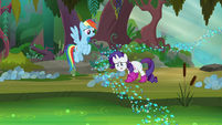 Rarity shuddering with disgust S8E17