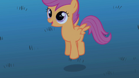 Scootaloo hopping S1E24