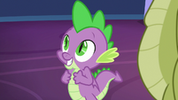 Spike excited by Twilight's idea S8E24