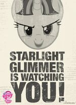Starlight Glimmer poster MLP Facebook page