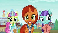 Stellar Flare's grin starting to falter S8E8