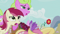 The Flower ponies faint again S5E9.png