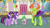 Thorax -not one to back out of an invitation- S7E15