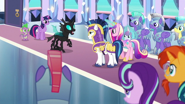 File:Thorax addressing the ponies S6E16.png