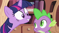 Twilight Sparkle asking Spike 4 S2E03
