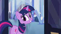 Twilight Sparkle cute smile S03E12