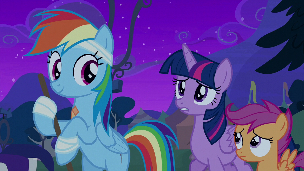 Image Twilight Sparkle Greeting Rainbow Dash S6e7g My Little