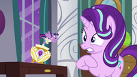 Twilight Sparkle has a dramatic outburst S7E10