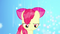Apple Bloom getting rained on S5E4
