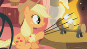 Applejack...uhm... what S01E08