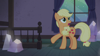 "Applejack ""never had a real Hearth's Warmin'!"" S5E20"