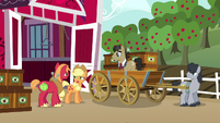 Applejack --we know exactly whose fault it was-- S6E23