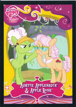 Auntie Applesauce & Apple Rose Enterplay series 2 trading card