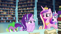 Cadance --Maybe he'll know what to do if the spell fails-- S6E2