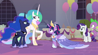 "Celestia ""time for us to be on our way"" S9E26"